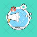 Social Campaign Seo Icon