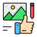 Post Social Campaign Sharing Icon