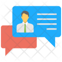 Social Chats Communication Icon