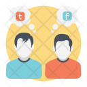 Social chat 2 Icon