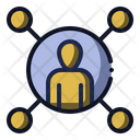 Social Circle People Icon