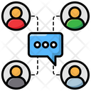 Social Communication Icon