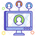 Social Communication Social Contacts Social Network Icon