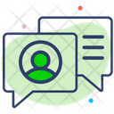 Social Communication Message Icon