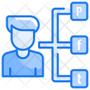 Social Communication Communication Connections Icon