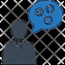 Human Talk Social Icon