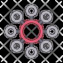 Social Connection Icon