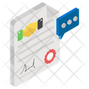 Deal Agreement Social Contract Icon