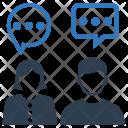 Social conversation Icon