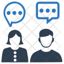 Social Conversation Communication Icon