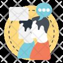 Social Correspondence Icon