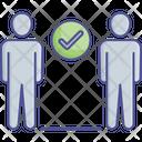 Social Distance For Coronavirus Safety Social Distancing Coronavirus Icon
