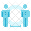 Protection Social Distance Icon
