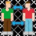 Distance Social Covid Icon