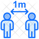 Social Distance Keep Distance Distance Icon