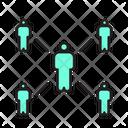 Covid Social Distancing Virus Icon