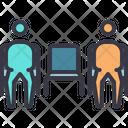 Social Distancing Icon