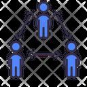 Social Distancing Safe Coronavirus Icon