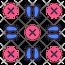 Social Distancing Stop Coronavirus Icon