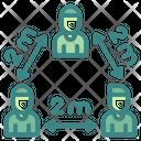 Social Distancing Coronavirus Humanpictos Icon