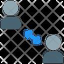 Social Distancing Distance Coronavirus Icon