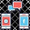 Social Engagement Social Network Social Platform Icon