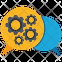 Social Engagement Social Network Marketing Icon