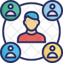 Connection People Connection Social Connection Icon
