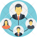 Social Group Network Icon