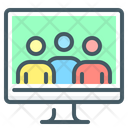 Social Group Information Technology Communication Icon