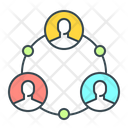 Connection Person Group Icon