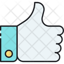 Social Integration Like Support Icon