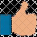 Social Integration Like Thumbs Up Icon