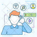 Listening Music Social Listening Music Listening Icon