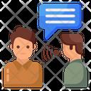 Social Listening Social Hearing Social Attention Icon