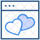 Social Love Icon
