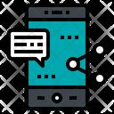 Smartphone Social Media Icon
