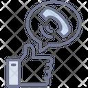 Social Network Weblog Microblogging Icon