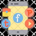 Social Media Marketing Promotion Icon