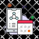 Social Media Share Symbol Share Network Icon