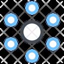 Social Media Connection Social Network Icon