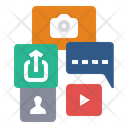 Social Media Social Media Marketing Social Media Promotion Icon