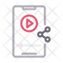 Video Player Social Icon