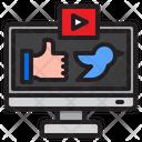 Social Media Internet Icon