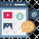 Social Media Social Network Social Network App Icon