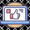 Social Media Like Interface Icon