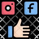 Social Media Like Favorite Icon