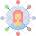 Social Media Networking Network Icon
