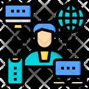 Social Media Artificial Intelligence Icon