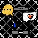 Social Network Social Media Social Communication Icon